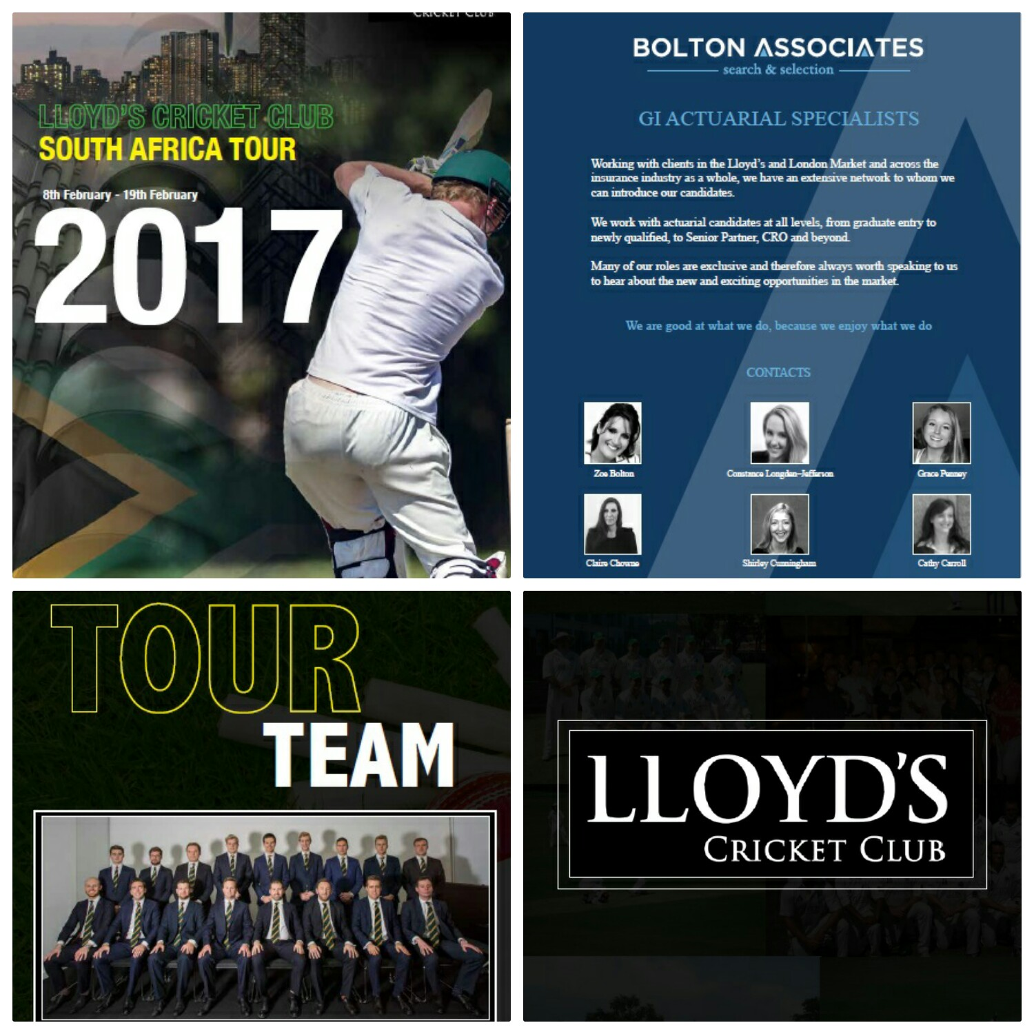 LLOYDSCRICKET WEB